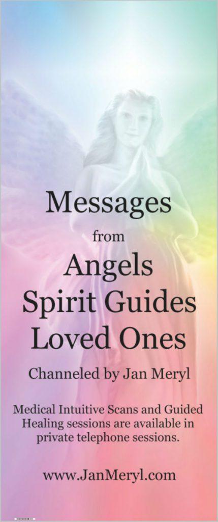 Angel Banner about Jan Meryl's skills